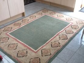 Polypropylene rug160cm x220cm-great qualityuse but in general good condition -see photos
