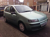 FIAT PUNTO 1.2 AUTOMATIC AUTO 5DR LONG MOT LOW MILEAGE