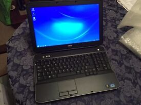 Dell Laptop, 15.6 inch Screen Core i5 2.5Ghz 4GB RAM 500GB HDD Win7 pro wifi