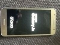 Samsung gold J5 on 02 network excellent condition
