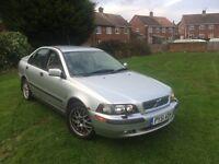 2002 VOLVO S40 1.8 SE MOT FEB2017 £325