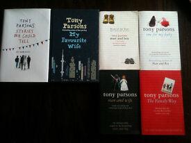 6 Tony Parsons Books