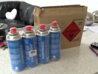 Brand new boxed set 4 camping gas to clear £4