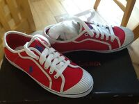 Brand new Red ladies/girls Polo Ralph Lauren pumps size 4.5