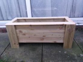 wooden Large Planter