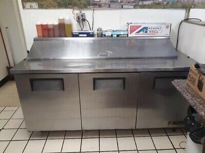 True Commercial Refrigerator Condiment Bar