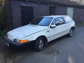 VOLVO 480 ES 1.7 AUTO. Rare Retro Classic, low miles, long m.o.t.