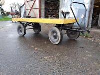 Heavy duty trolley / cart - Good condition, No rust. 60 quid ONO
