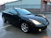 For Sale - Toyota Celica, Black, Manual, Full Leaver, CD/DVD/USB, Great Condition