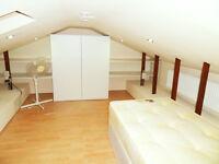 Big loft type Single room to rent near Custom House Prince Regent