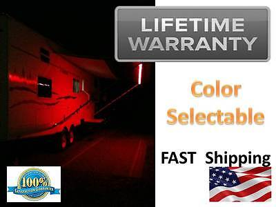 LED Motorhome RV Lights - Awning LIGHTING Kit  - WHITE & Multi Color Outdoor
