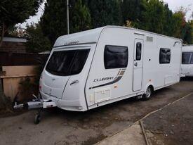 2013 Lunar Clubman SE 4 Berth caravan FIXED BED, MOTOR MOVER, Bargain !!! January Sale