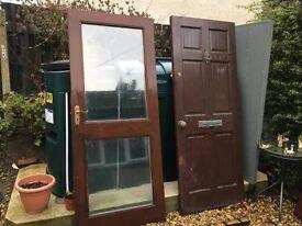 Doors with panels