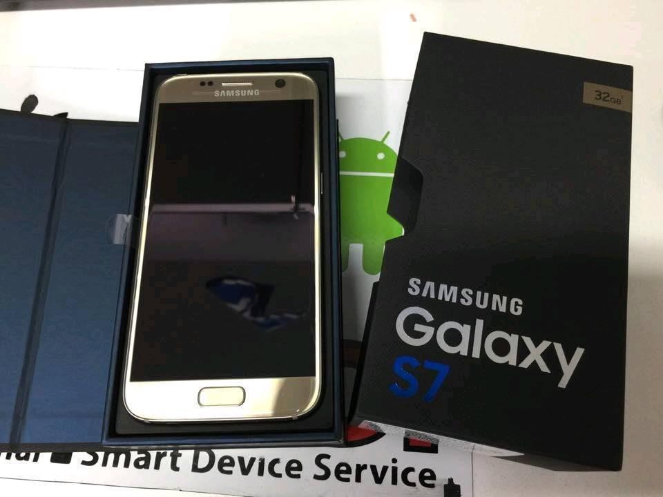Samsung Galaxy S7 Platinum Gold Sim Free Boxed NEWin Derby, DerbyshireGumtree - Samsung Galaxy S7 Platinum Gold Sim Free Boxed Like NEW complete with unused accessories Bargain
