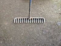 Large heavy duty rake
