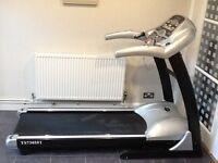 Professional Motorized Treadmill TS7305FI Silver/Black