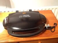 George Forman low fat family grill