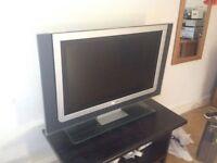 """32"""" LCD widescreen flat TV"""