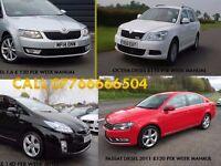 PCO CARS HIRE RENT-TOYOTA PRIUS £120 PER WEEK