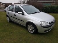 Vauxhall Corsa 1.2 16v ELEGANCE LONG MOT (with no advisories) Excellent first car