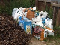 30x large bags bark chippings