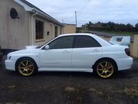 Lovely White 02 WRX Bugeye Impreza (May Px or Swap E60 M sport/Kitted or X5)