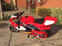 mini moto bike/ pocket bike in perfect condition