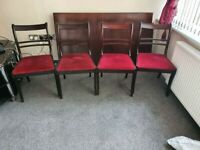Traditional Dining Table and 4 chairs-