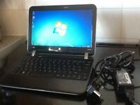 HP PAVILION DM1 BEATS AUDIO. 320GB HDD. 4GB RAM. AMD E-450. DUAL CORE. WIN 7. WEBCAM. HDMI. WEBCAM.