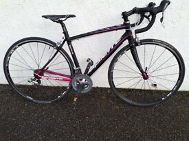 Lapierre road bike. 48cm frame. Hardly used. Excellent condition except scuff on brakes
