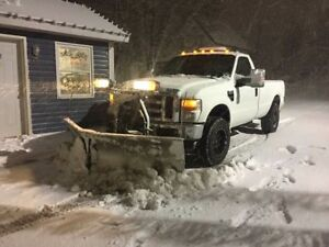 2010 FORD F250 SUPER DUTY with PLOW