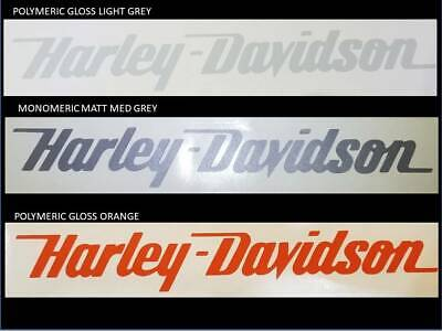 2 x HARLEY DAVIDSON LARGE 300mm style Tank decal sticker Harley chopper