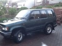 Isuzu Trooper 3.1 TD SPARES OR REPAIRS / EXPORT