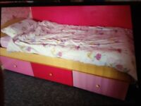 Harley single bed with storage