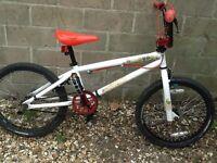 Felt BMX bike, twin brakes, stunt pegs