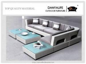 Outdoor Wicker Furniture Rattan Garden Lounge Furniture Setting