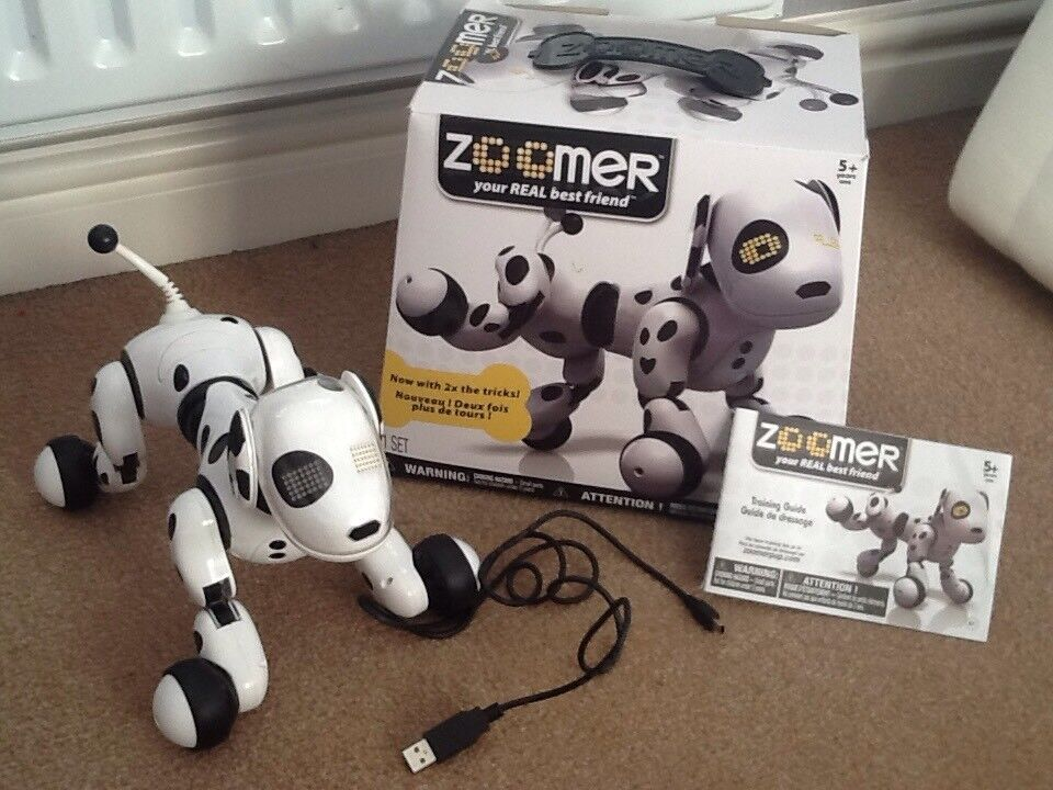 Zoomer Electronic Puppy With Box Instructions In Leigh