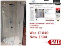 Matki pentagra shower enclosure 1000x800