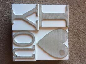 I Love You Decorative Plaque/Ornament