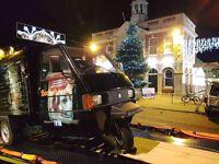 Piaggio Ape Converted Pizza Truck - 2015, 250cc