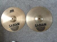 "Sabian B8 14"" Highhat Cymbals,"