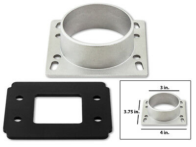 Mass Air Intake Sensor - Air Intake MAF Mass Air Flow Sensor Adapter Plate For 90-97 Miata MX5 1.6L 1.8L