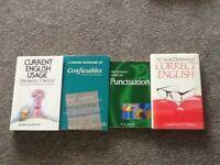 Correct English books