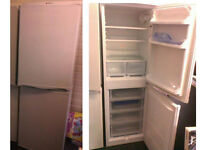 Hotpoint iced diamond fridge freezer 67 inches high x 21.5 inches wide Good working order SEE BELOW