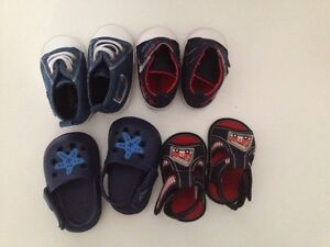 Baby shoes 0-6 months (all for $10) Beckenham Gosnells Area Preview