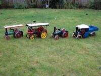 Small steam engines, Mamods and Wilescos wanted
