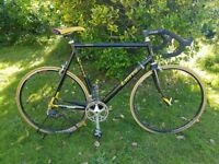Classic Italian road racing bike GINO LIOTTO GRINTA Frame25'' HUGE BIKE!