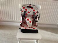 Travel high chair/booster seat