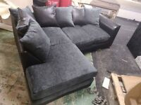 BRAND NEW DYLAN CHENILLE FABRIC CORNER AND 3+2 SEATER SOFA AVAILABLE IN DIFFERENT COLORS ORDER NOW