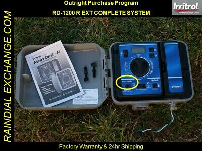 NEW - Irritrol / Hardie Rain Dial RD-1200 R / RD-1200 EXT COMPLETE SYSTEM